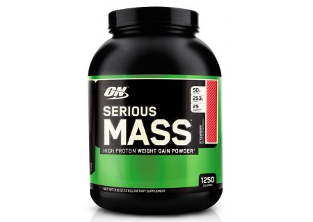 OptimumN Serious Mass 2.7kg (клубника)