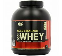 OptimumN Whey Gold 2.3kg клубника