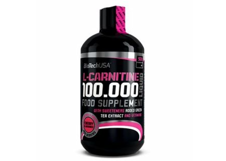 BioTech L-carnitine liquid 100000mg 500ml